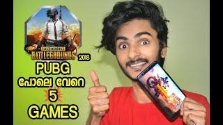 5 PUBG GAMES FOR ANDROID l UNBOXING DUDE l