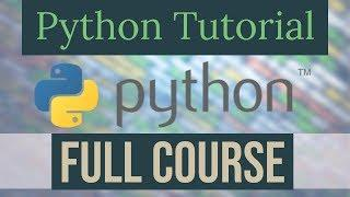 Full Python Programming Course | Python Tutorial for Beginners | Learn Python
