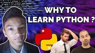 Why to Learn Python Programming in 2019 ?