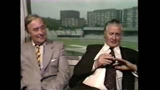 Vintage cricket GOLD! Incredible interview with LEGENDS Keith Miller and Denis Compton, 1980.