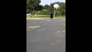 Beast Nut Shot With A Basketball