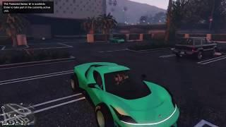 GTA5 *F1 Wheels* Give Car To Friend (Easy)