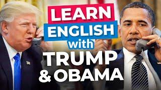 Learn English With President Trump & Obama | Funny English Lesson