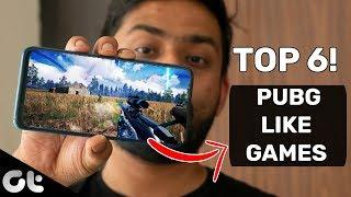 TOP 6 PUBG Like Games for All Android Phones | PUBG Alternatives in 2019 | GT Gaming