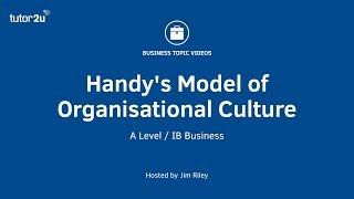 Charles Handy's Model of Organisational Culture