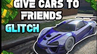 *GTA5* GIVE CARS TO FRIEND GLITCH!