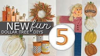 5 FUN Fall Dollar Tree Farmhouse DIYs | Farmhouse Fall DIYs | Dollar Tree DIYS