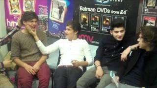 One Direction UNCENSORED (full signing video)