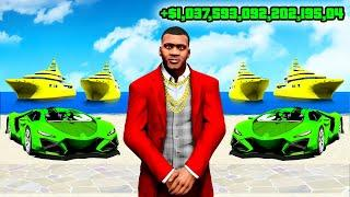 PLAYING as a QUINTILLIONAIRE in GTA 5!