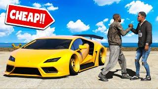He sold me his LAMBORGHINI for THIS MUCH in GTA 5!!