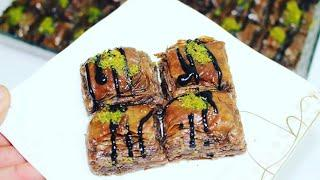 chocolate Baklava  باقلوا شکلاتی