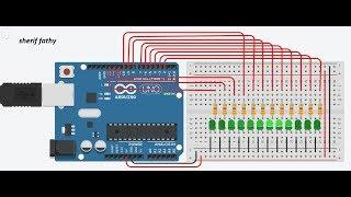 Arduino Lecture 009 Smooth Led Flasher Simulation