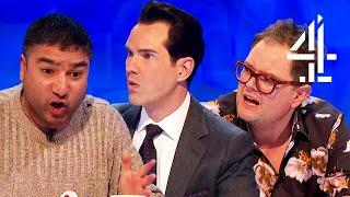 Jimmy Carr S Unexpected Comment Has Rachel Riley In Stitches 8 Out Of 10 Cats Does Countdown