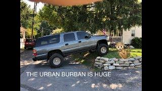 URBAN BURBAN IS A BEAST THANKS TO ROUGH COUNTRY LIFT KITS
