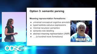 Meaning Representation for Natural Language Understanding - Mariana Romanyshyn   - ODSC Europe 2019
