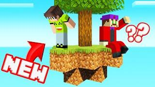 Playing SKYBLOCK On My *NEW* MINECRAFT SERVER!