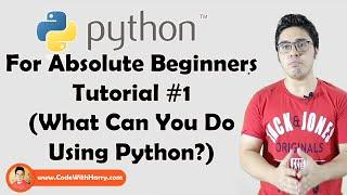 What is Programming & Why Learn Python? | Python Tutorials For Absolute Beginners In Hindi #1