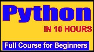 Learn Python - Full Fundamental Course for Beginners | Python Tutorial for Beginners [2019]