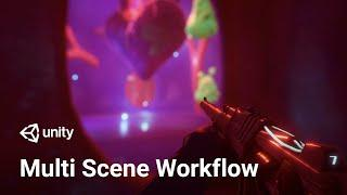 How to work with multiple scenes in Unity