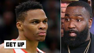 Russell Westbrook told Kendrick Perkins 'it's too easy' during the Rockets' win vs. Celtics   Get Up